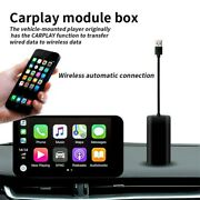 Wireless Carplay Usb Dongle Link Box For Car Ios Android System Stereo Player Us