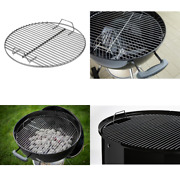 Weber Cooking Grill Grate Replacement For 18 In. One Touch Kettle Smokey Cooker