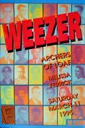 Weezer Fillmore Poster Archers Of Loaf Original Bill Graham F180a Eric Marshall