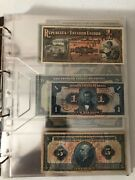 Brazil Banknotes Collection - Reis And Much More With Binder And Slipcase