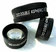 Non Contact Aspheric Slit Lamp Lens Set Of Three Free Shipping Worldwide Dr.jack