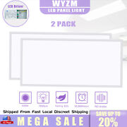 Wyzm Led Panel Light 2x4ft 75w Ultra-thin Drop Ceiling Kitchen Home Office Light