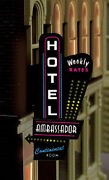 Hotel-motel Series Animated Neon Sign Ho-scale Lights Blinks-more-right Version