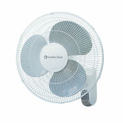 Comfort Zone Cz16wr 16andrdquo Quiet 3-speed Wall Mount Fan With Remote Control