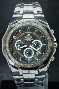 Styles Casio Edifice Ef-540 Menand039s Tachymeter With Date Japan Made Quartz Watch