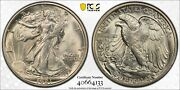 1921-d Pcgs And Cac Ms64+ Walking Liberty Silver Half Dollar