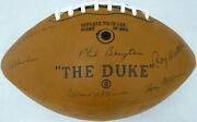 1968 Packers Team Autographed Signed Football 48 Sigs Bart Starr Psa/dna Ai02203