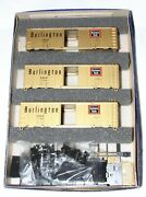 Athearn Chicago Burlington And Quincy Cbandq Special Edition Gold Boxcar Set