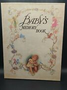 Philomel Books Vintage Pop-up Babyand039s Memory Book 1985 Victorian Fairy Style