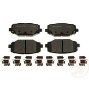 Mgd1596ch Raybestos New 2-wheel Set Rear For Vw Town And Country Grand Caravan
