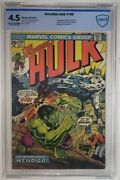 Incredible Hulk 180 Cgc 4.0 Marvel 1974 1st Cameo Appearance Of Wolverine Hot