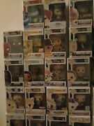 Funko Pop Lot Choose Your Pop Commons Exclusives And Rare Figures