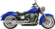 Bassani Xhaust Exhaust Chrome Staggered 22 2 Into 2 1s93s