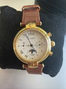 Buran Limited Edition Chronograph Moon Phase Automatic Russian Watch 751/1000