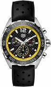 Tag Heuer Formula 1 Black Rubber Strap Menand039s Watch Caz101ac.ft8024