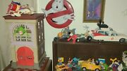 Vintage Ghostbusters Firehouse,all Original Kenner ,ghostbusters Action Figures