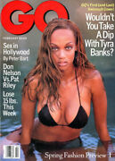 Tyra Banks Cover Gq Magazine 1996 First And Last Swimsuit Cover Sex In Hollywood