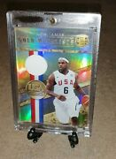 Lebron James Usa Jersey Card Gold Medalist Limited 44/ 299 Panini