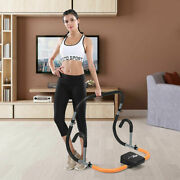 Ab Fitness Crunch Abdominal Exercise Workout Machine For Glider Roller And