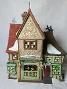 Dept 56 Dickens Village Series Nettie Quinn Puppets And Marionettes/ Box Excellent