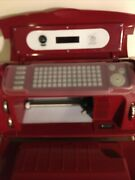 Cricut Cake Printer Red 4 Cake Cartridges Never Been Used
