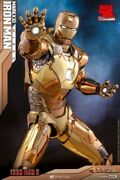 Hot 1/6 Iron Man Mark 21 Midas Diecast Mms586d36 Ironman Mk21 Limited Edition