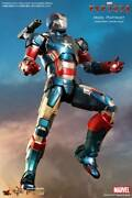 Hot Movie Masterpiece Diecast Die-cast Mark Iron Man Patriot
