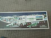 Hess Collectible Toy Truck Race Car And Racer W/ Lights And Sounds New