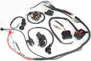 Motorcycle Wiring Harness Kit Electrics Wire Loom Assembly For Gy6 125cc 150cc