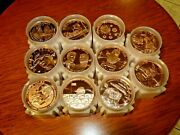 Lot Of 110 President Donald J. Trump Copper Round Coins