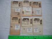Lot Of 6 Detail Associates Assorted Diesel Parts, Brass Headlight Radio,ho Scale