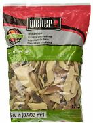 Weber Wood Cubic Meter Stephen Bbq Products Outdoor 17138 Apple Chips192 Cu. In.
