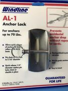 New Windline Boat Anchor Lock Al-1 For Anchors Up To 70 Lbs Boating Free Ship