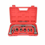 Auto Valve Spring Compressor Clamp Tool Set Kit Universal For Motorcycle Atv ...