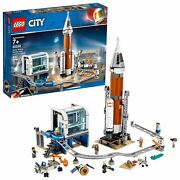 Lego City Rocket And Launch Control 60228 Nasa Space Ship Building Astronaut Toy