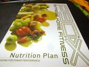 Beachbody P90x Extreme Home Fitness Nutrition Plan Guide Book Euc Workout B9