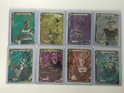 Dragon Ball Super Card Game Signed Cards And Scr, Nm, Great For Collectors, Top