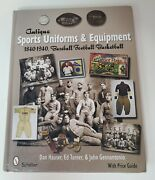 Antique Sports Uniforms And Equipment Baseball, Football, By Dan Hauser