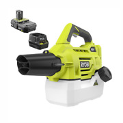 Ryobi One+ 18v Lithium-ion Cordless Battery Fogger/mister W/ Battery And Charger