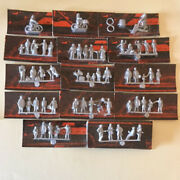 Series Of Miniatures Figure In Metal Height 0 15/32in About Not Dipine Marklin