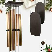 Astarin Large Wind Chimes Outdoor Deep Tone, Wind Chime Sympathy 5 Big Aluminum