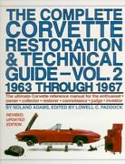 The Complete Corvette Restoration And Technical Guide V2 1963 1964 1965 1966 1967
