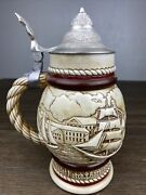 Vintage Avon Beer Stein Handcrafted In Brazil 1977 Shipyard Free Shipping