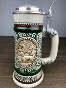 Vintage Avon Beer Stein Handcrafted In Brazil 1978 Hunting Dog Free Shipping