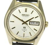 Grand Seiko Day-date 6146-8000 Cal.6146a Self-winding Secondhand External Belt