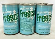 Vintage 6 Pack Of Steel Soda Pop Fresca Cans Empty