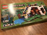 Lego Minecraft The Waterfall Base 21134 New In Sealed Box