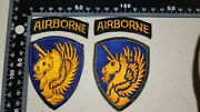 K2925 Ww2 Us Army Shoulder Patches 13 Airborne Division With Tab L2a