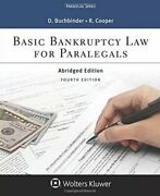 Basic Bankruptcy Law For Paralegals Abridged By David L. Buchbinder New