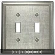 Linen Brushed Nickel Switch Plates Wall Plates And Outlet Covers